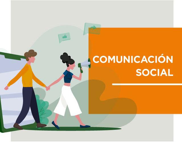 Estudía comunicación social